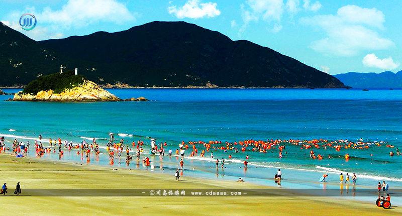 上川岛飞沙滩